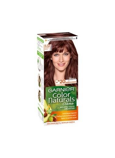 Garnier Garnier Color Naturals Saç Boyası 5.52 Çikolata Kahve Renkli
